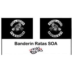 Banderín Ratas SOA