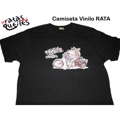 Camiseta Vinilo RATA