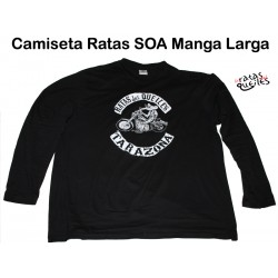 Camiseta Ratas SOA Manga Larga