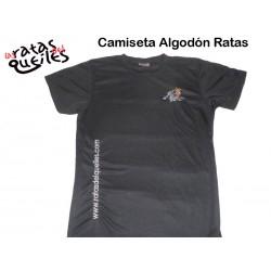 Camiseta Algodón Ratas