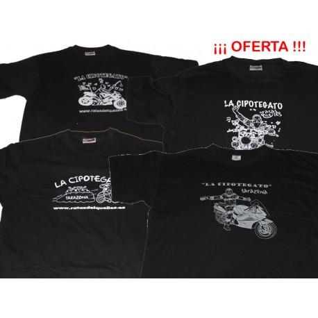 Pack Camisetas CIPOTEGATO